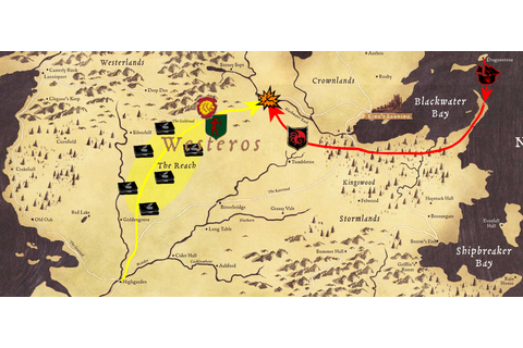 Image - Battle of the Goldroad map.png | Game of Thrones ...
