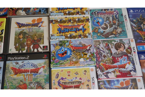 Dragon Quest game collection [Update] - YouTube