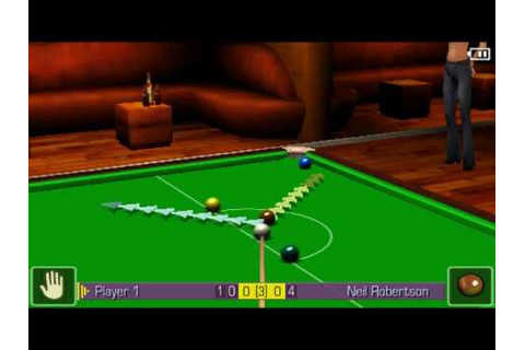 World Snooker Championship 2005 Sony PSP - YouTube