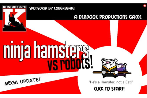 Ninja Hamsters vs Robots - Free To Play Browser Game ...