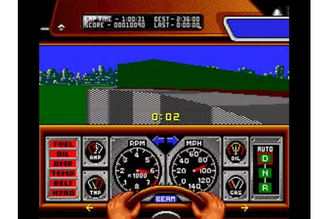 Unplayable Games: Race Drivin' (SNES) - YouTube