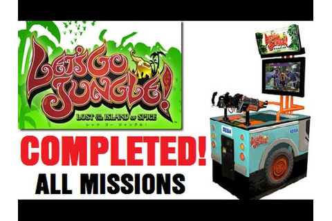 LET'S GO JUNGLE Arcade Shooter COMPLETED! ALL MISSIONS ...
