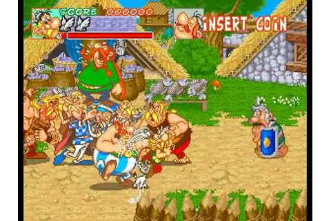 Arcade Longplay [440] Asterix - YouTube