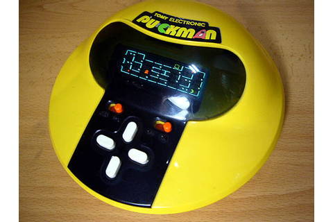 Handheld Empire - game | Tomy : Pac Man - パックマン - Puck Man ...