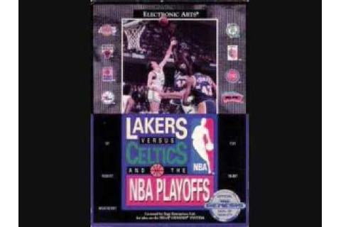 Lakers vs Celtics - Sega Genesis - Music from the 2nd half ...