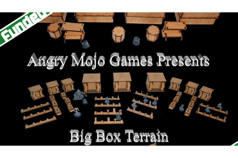 Big Box Terrain: Angry Mojo Games and Terrain Lasercraft ...