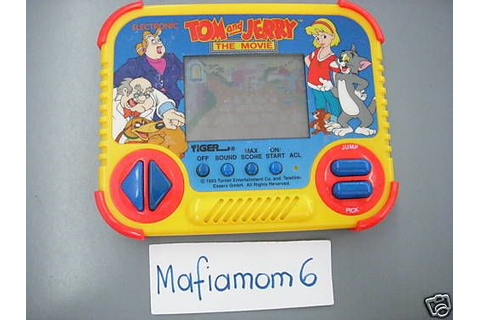 Details about Tiger Electronics Tom And Jerry The Movie ...