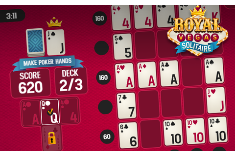 Play Royal Vegas Solitaire at Gembly - Excitingly fun!
