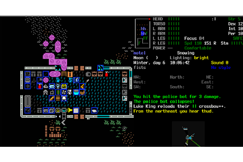 Cataclysm: Dark Days Ahead: A roguelike you could play for ...