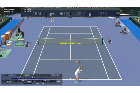 WhatSpecification: Dream Match Tennis Pro Demo 2.34