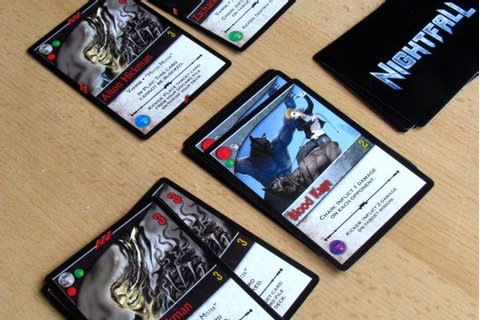 Review: Nightfall reign of vampires sets in | Board game ...