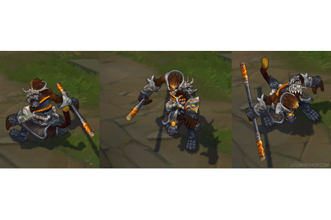 General Wukong - League of Legends skin - LoL Skin