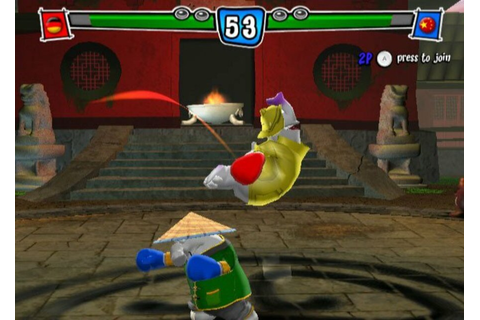 Karate Phants: Gloves of Glory (WiiWare) Screenshots
