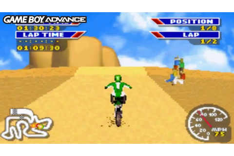 MX 2002 Featuring Ricky Carmichael (Gameboy Advance ...