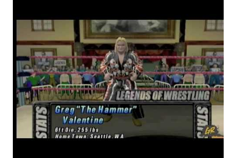 Legends of Wrestling (Nintendo Gamecube) Gameplay Video ...