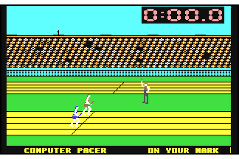 Summer Games (1984) C64 game
