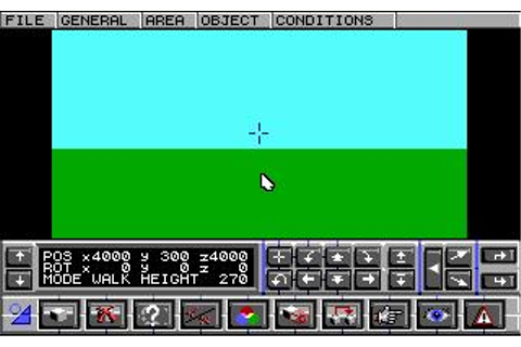 3D Construction Kit 2 Download (1992 Utility Game)