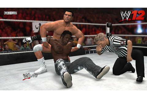 Preview: WWE 12 Create Your Wrestler Video | bifuteki