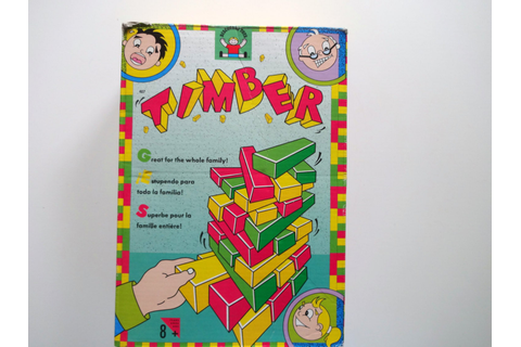 Vintage Discovery Kids Timber Game 1991 by WylieOwlVintage ...