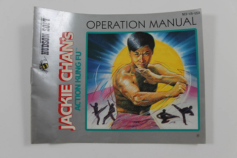 Manual - Jackie Chan's Action Kung Fu - Nes Nintendo