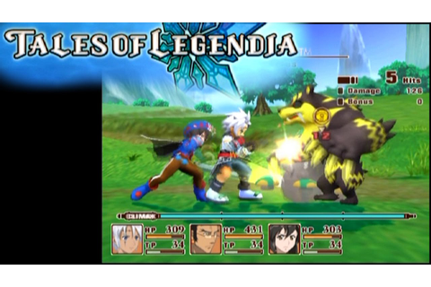 Tales of Legendia ... (PS2) - YouTube