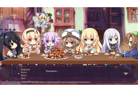 Super Neptunia RPG to release on Steam this Summer | RPG Site
