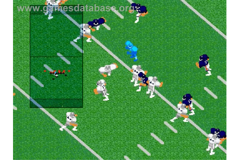 Super Play Action Football - Nintendo SNES - Games Database