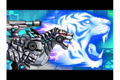 Robot Snow Tiger - Game Show - Game Play - 2015 - HD - YouTube