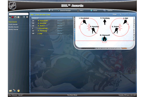 NHL Eastside Hockey Manager 2007 Screenshots for Windows ...