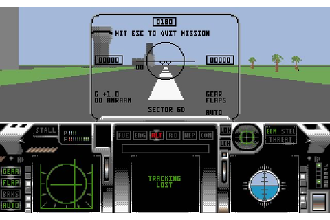 Download F29 Retaliator vehicle simulation for DOS (1990 ...