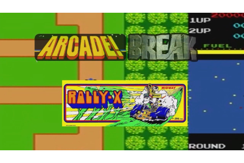 Rally-X (Arcade, 1980) - Video Game Years History - YouTube