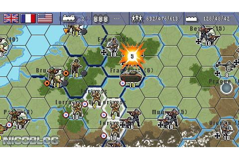 Military History Commander: Europe at War (Europe) PSP ISO ...