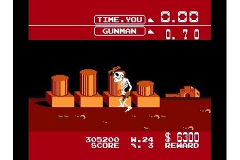 Fast Gunman (Wild Gunman Hack) (NES) | Gameplay - YouTube