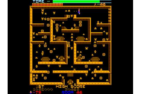 Arcade Game: Lost Tomb (1982 Stern Electronics) - YouTube