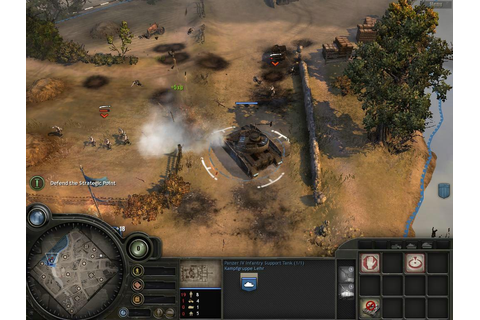 Just click download: Company of Heroes: Opposing Fronts