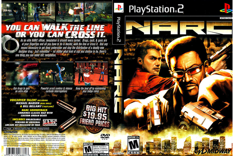 GAME PS2: NARC