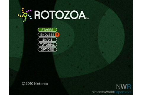Art Style: Rotozoa - Game - Nintendo World Report