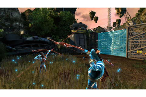 Overgrown smurfs: James Cameron's Avatar: The Game