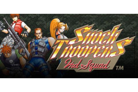 SHOCK TROOPERS 2nd Squad on Steam