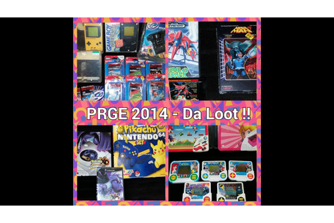 Video Game Pickups #33 - PRGE 2014 Pick Ups - Kacy Da Game ...