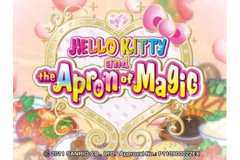 Hello Kitty and the Apron of Magic Opening Movie B - YouTube