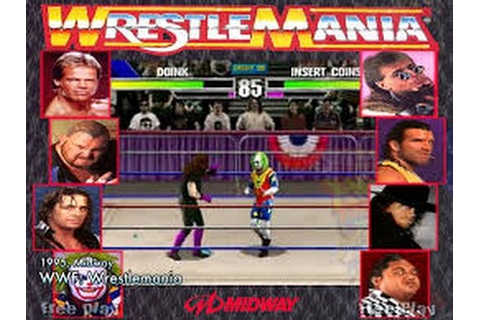 WWF Wrestlemania: The Arcade Game (Arcade) - YouTube