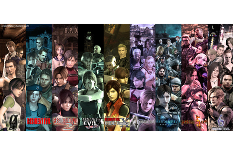 Resident Evil Series by Yokoylebirisi on DeviantArt