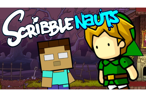Scribblenauts Unlimited #5: HEROBRINE...! - YouTube