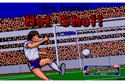 Gary Lineker's Hot-Shot! (1990) by Gremlin Graphics Amiga game