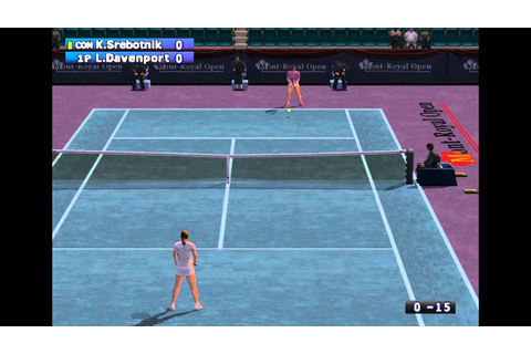 Climax Tennis WTA Tour Edition Gameplay PCSX2 R5703 HD ...