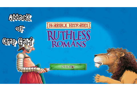 Attack of Crap Games |#115| Horrible Histories Ruthless ...