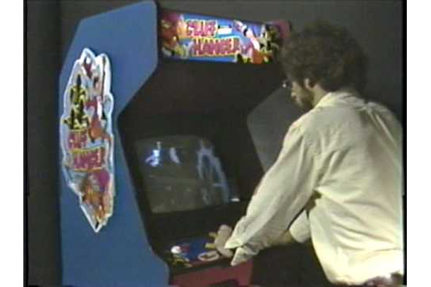 Cliff Hanger laserdisc arcade game promotional video 1983 ...