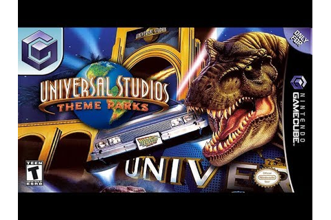 Longplay of Universal Studios Theme Parks Adventure - YouTube