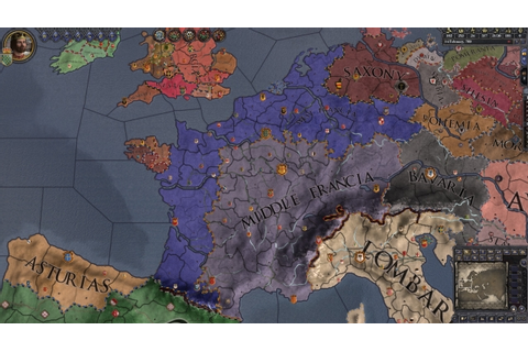 Crusader Kings II: Charlemagne Review | GameGrin